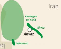 Fields in Iran's southwestern Karoun oil region